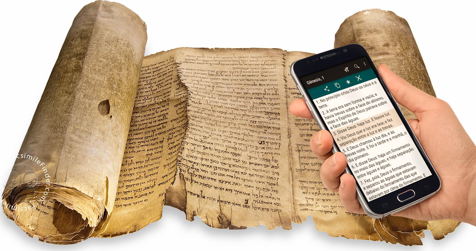 Die Bibel immer griffbereit: Vom Manuskript zum Handy
